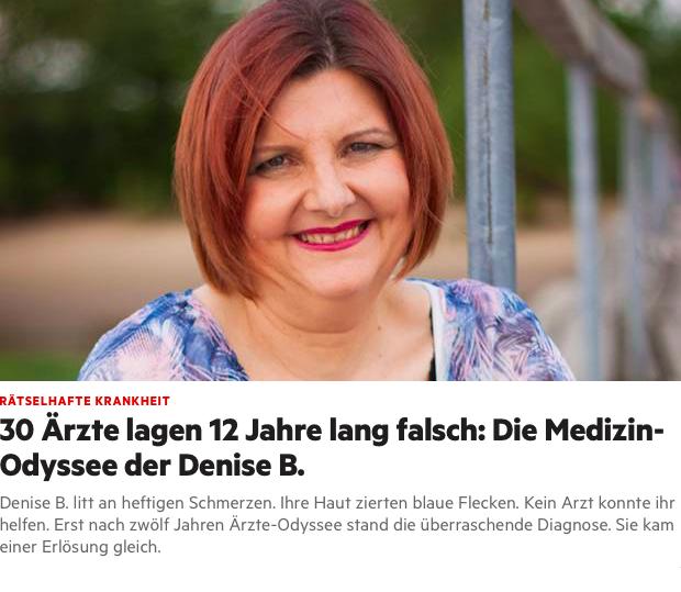 30 Ärzte lagen 12 Jahre lang falsch: Die Medizin-Odyssee der Denise B