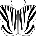 Butterfly which is a lateral cut through the spinal cord as well. It is striped like a zebra.
