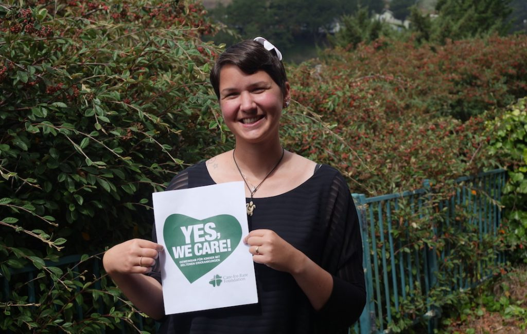 Yes, we care! – A campaign for children with rare diseases