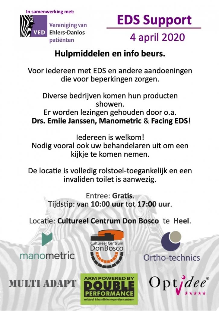 Holländischer Event Flyer
